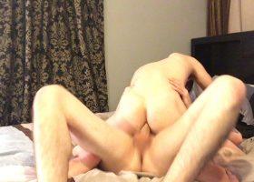 Amateurs Ryan and Austin Fuck On Webcam