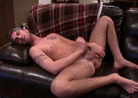 Amateur Troy Styles Beats His Meat
