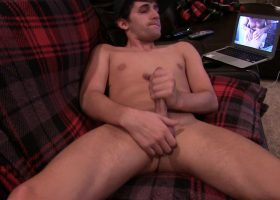 Amateur Cole Strokes from A Big Load