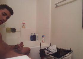Shower Jacking Twink Webcam Show
