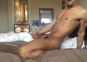 Amateur Hayden Strokes With Big Dildo